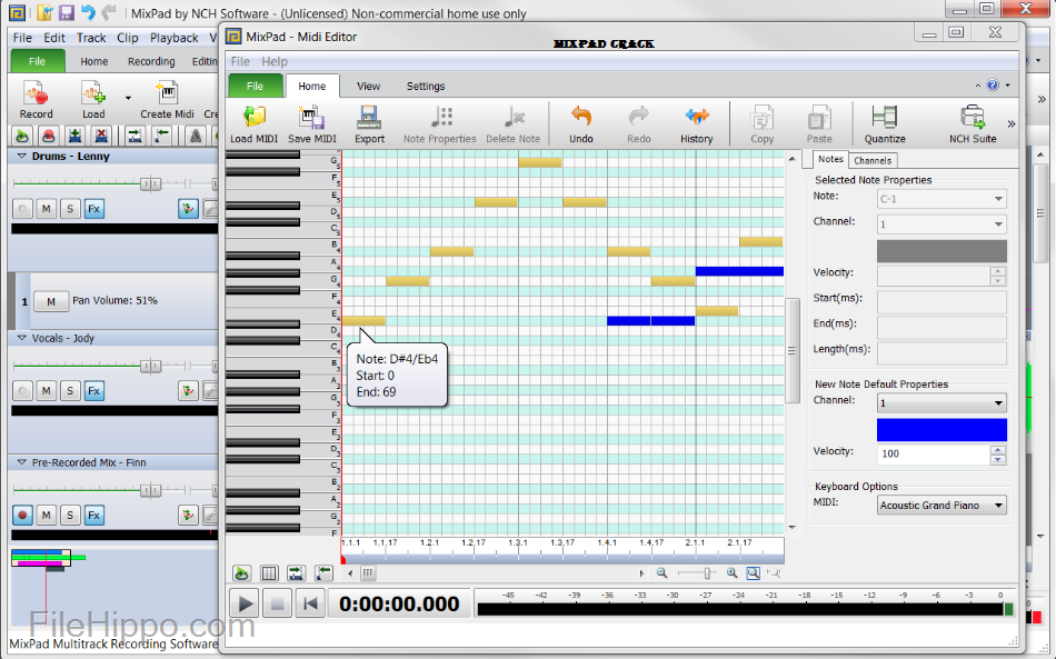 download mixpad full crack